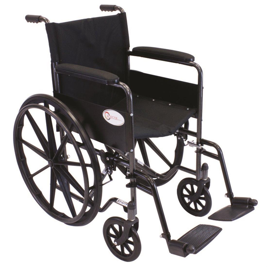 Silver Steel K1 Lite Wheelchair Roscoe Medical
