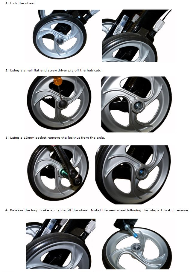 Rear Nitro Wheel Replacement