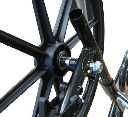 Wheelchair Rea Wheel